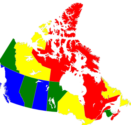 Colored Map Of Canada.Map Coloring Ocean Documentation 0 0 1 Documentation